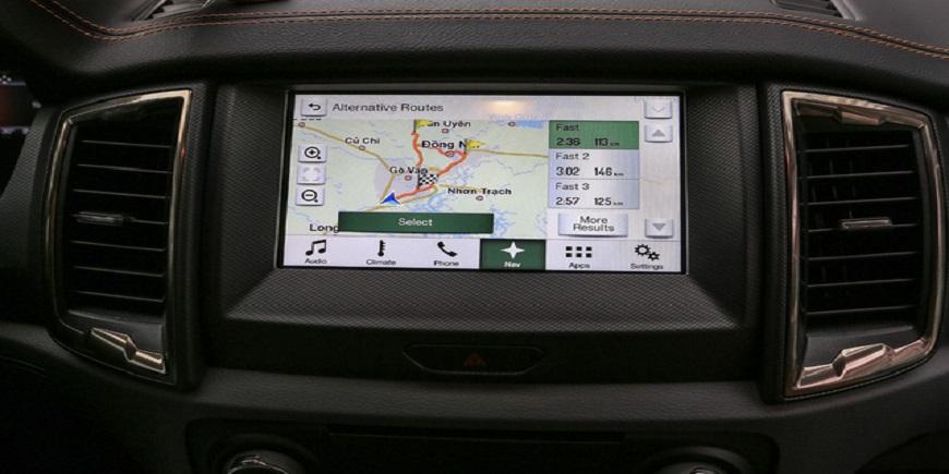 Trải nghiệm nhanh Ford Ranger 2017 với hệ thống định vị