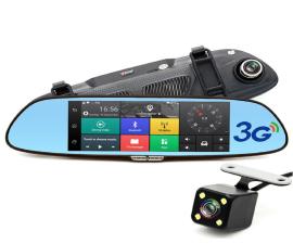 Camera hành trình gương F34 7inch 3G