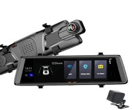 Camera hành trình gương 9.8 inch 4G SC09